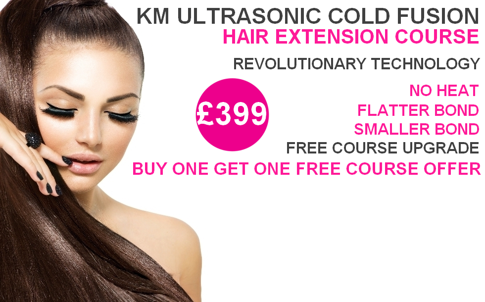 Cold Fusion Hair Extension Training 91