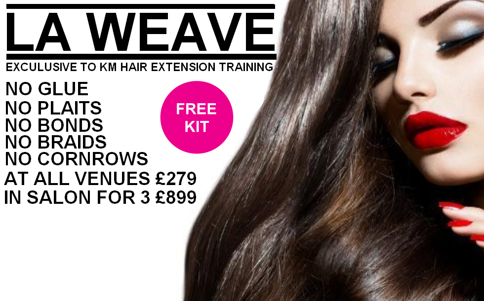 Weave Hair Extension Training Courses 62